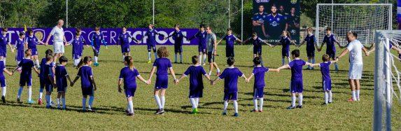 Soccer Camp do Peraltas em parceria com Orlando City foi um grande sucesso; a galera se divertiu e aprendeu muito sobre futebol!