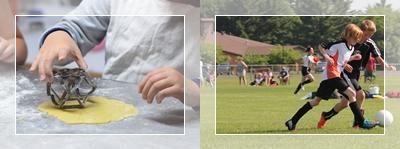 Férias de julho no Acampamento Peraltas terá Super Chef Ju-nior e Soccer Cup para crianças e jovens