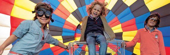 Vai rolar até Voo de Balão na temporada de férias de julho no Peraltas!